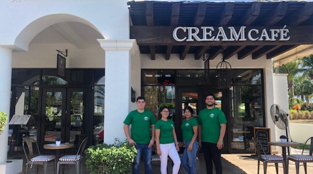 Cream Café y Pizza Bar se une a los esfuerzos de GSP para lograr mejorar la educación de los jóvenes de Los Cabos