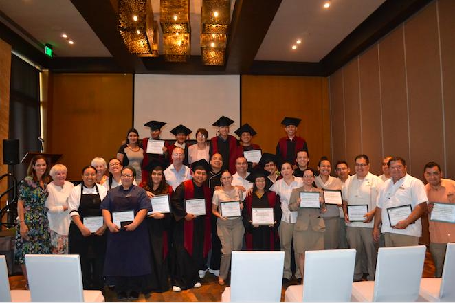 Evento de graduación Green Hospitality Program